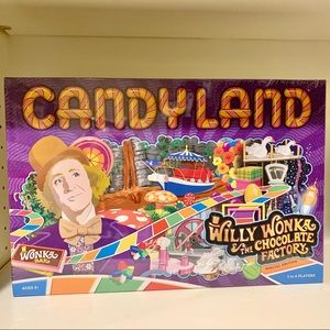 Candy Land Willy Wonka Special Edition Board Game